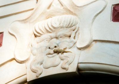 Villa Durazzo facciata- particolare