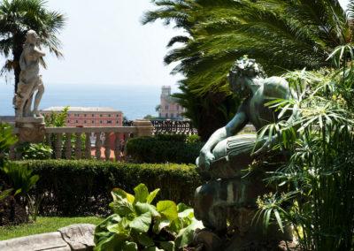 panorama dal Giardino all'Italiana