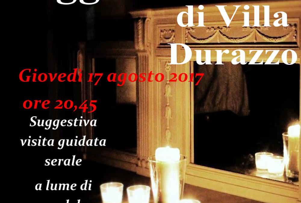 Fantasmi e Leggende di Villa Durazzo