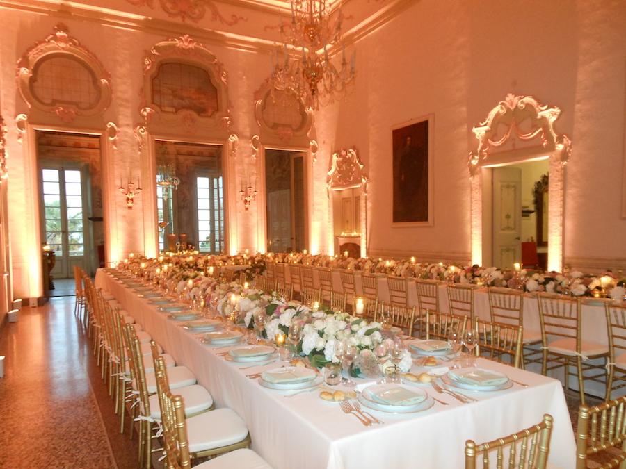Salone degli Stucchi tavolo imperiale