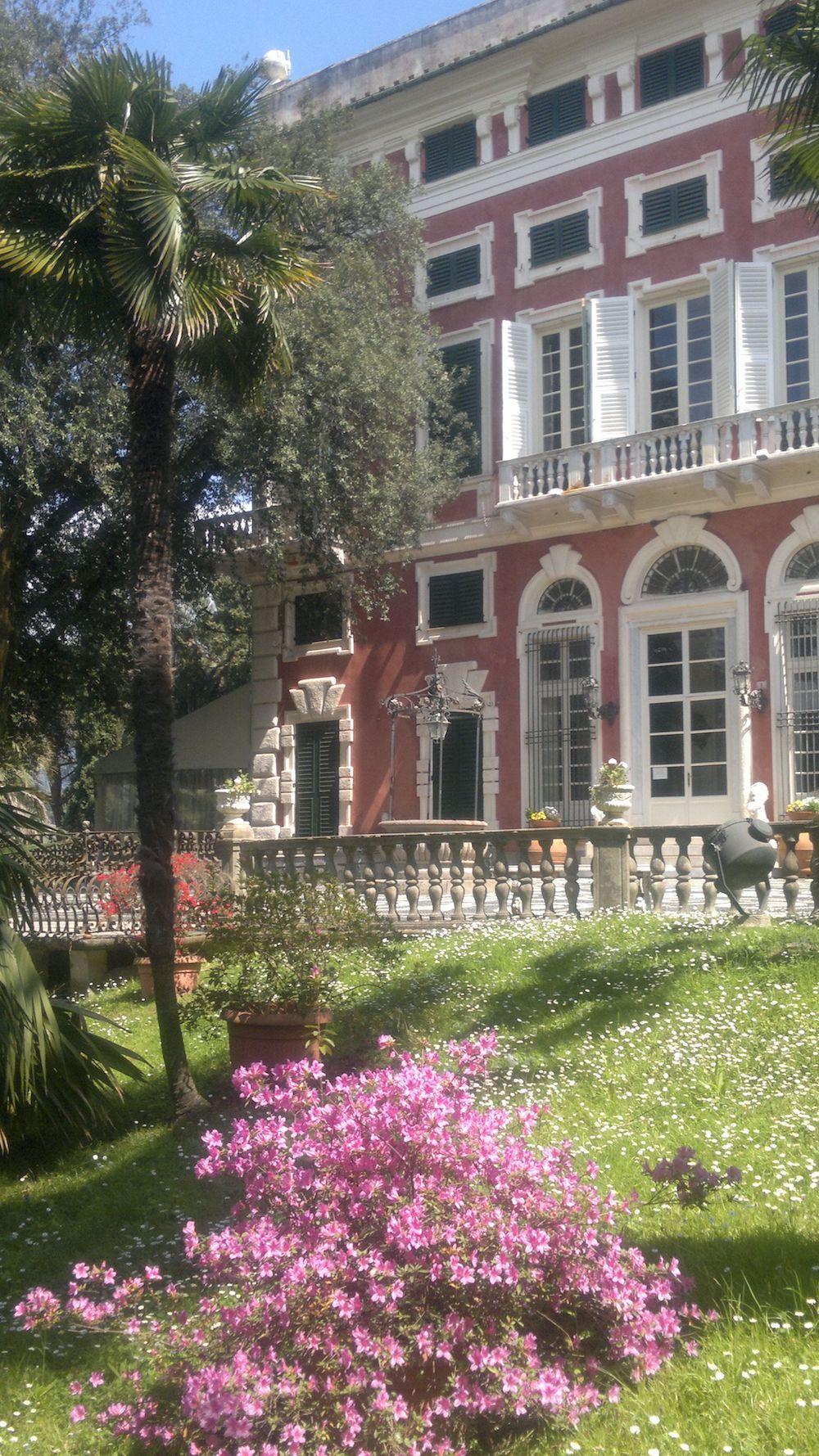 Villa Durazzo facciata lato parco