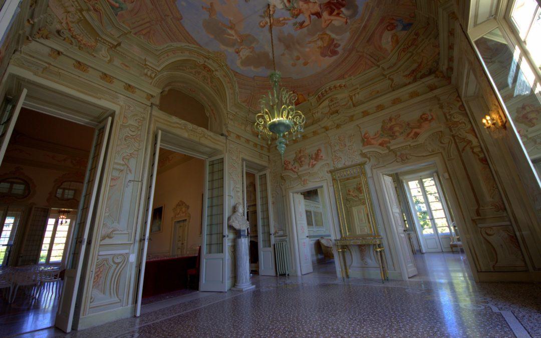 Visite a Villa Durazzo nei ponti festivi dal 24 aprile al 5 maggio
