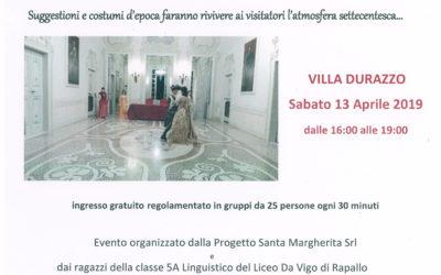 Il Settecento va in scena: Tableaux vivants a Villa Durazzo