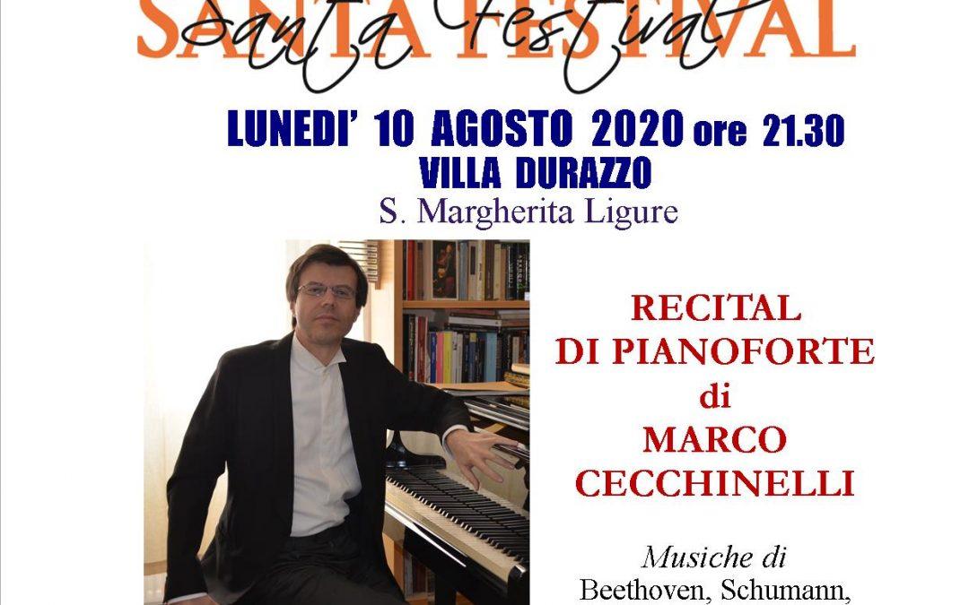 Lunedì 10 agosto ore 21:30 – Concerto Santa Festival