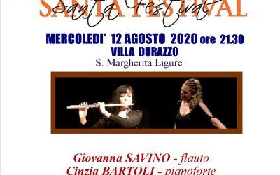 Mercoledì 12 agosto ore 21:30 – Concerto Santa Festival