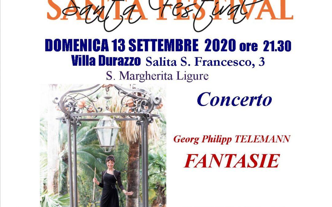 Domenica 13 settembre – ore 21:30 concerto Santa Festival