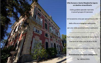 Ritornano le visite guidate: Villa Durazzo a Santa Margherita Ligure – un destino straordinario